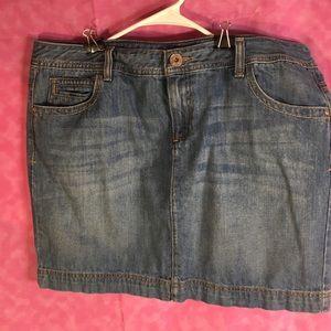 Tommy Hilfiger Jean Skirt! NWOT! Size 16